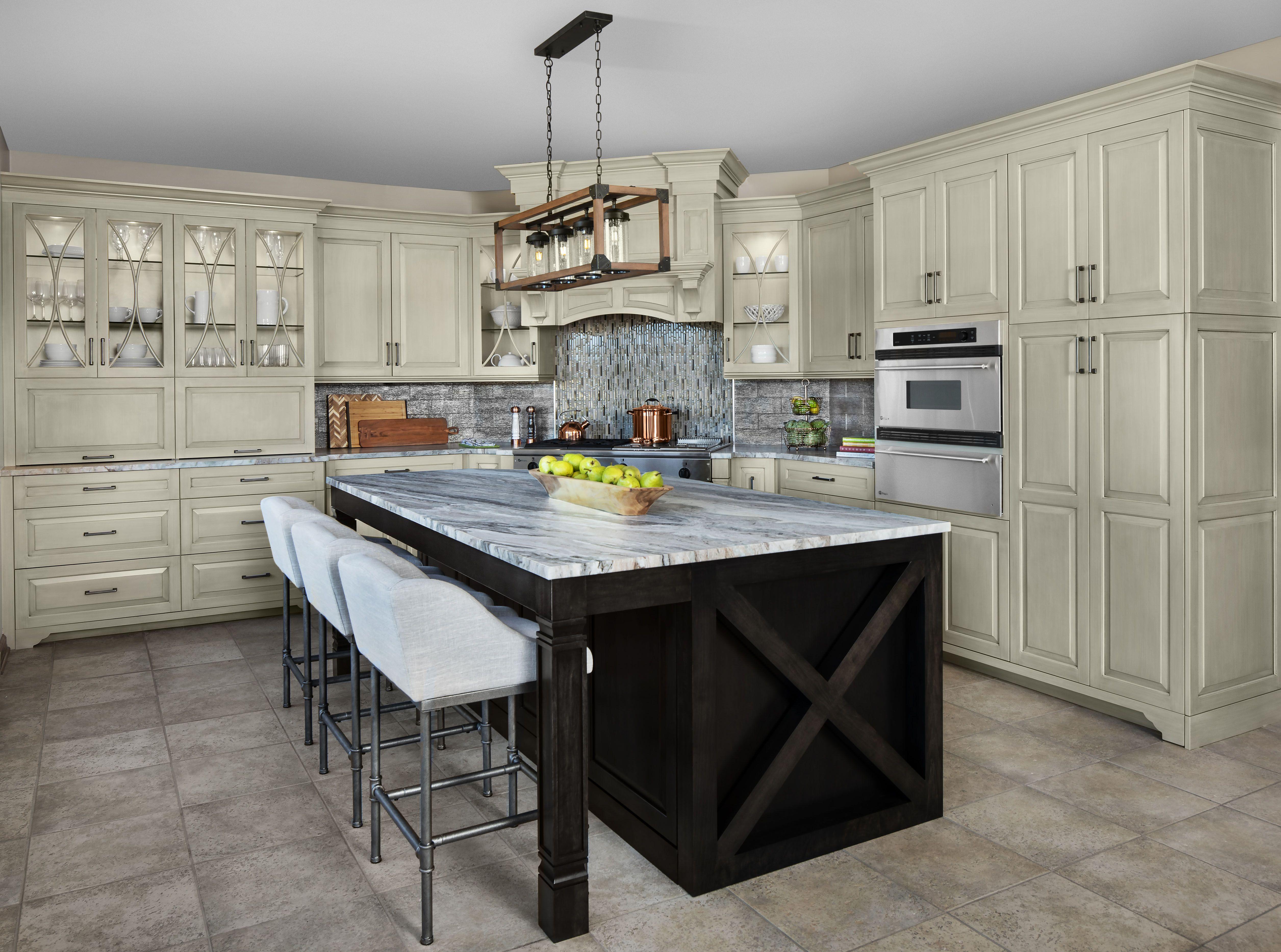 Jamestown Ii Kitchen Kitchen Grey Kitchen Cabinets Kitchen Renovation