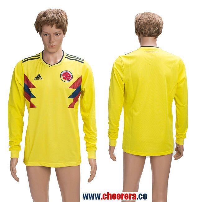 7a18283eedb Columbia 2018 FIFA World Cup Long Sleeve Thailand Soccer Jersey ...