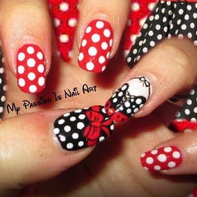 50's Nail Art Tutorial By Anna C | Nailed It | Nail Art ...