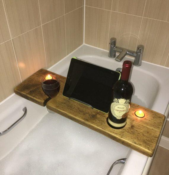 Bath Board - Bath Tray - IPad Holder - Tablet Holder - Phone Holder ...