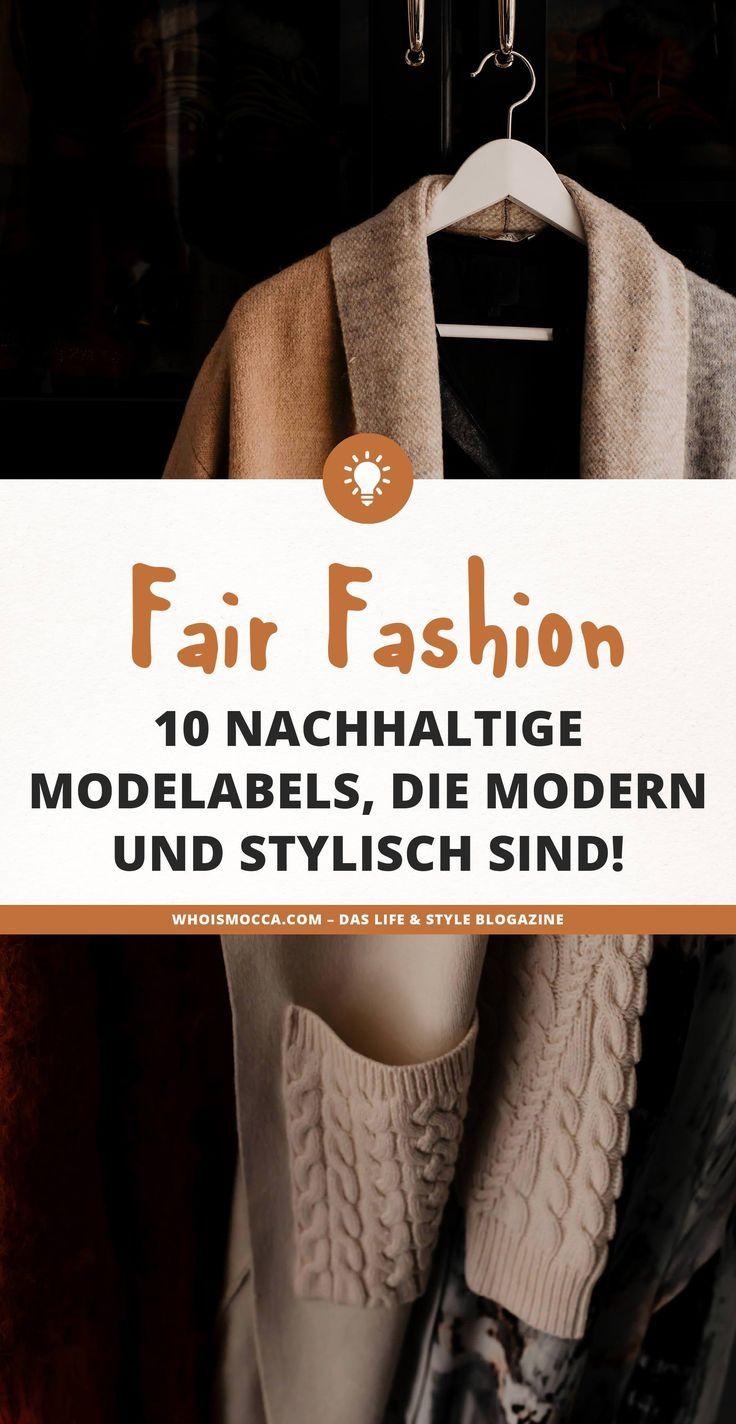 Fair Fashion: 10 nachhaltige Modelabels, die modern und stylisch sind! –