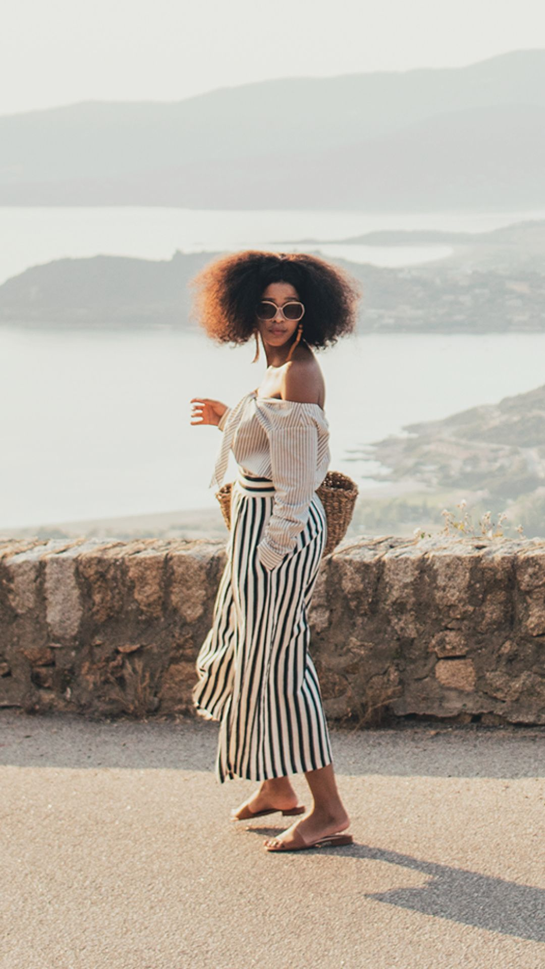 Explore Corsica with blogger Lulama Wolf and her take on H M style for the  summer.  f55079fc8a87a
