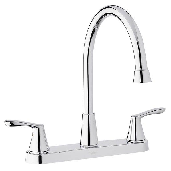 Taymor Infinity 2 Handle Kitchen Faucet - Chrome | Kitchen & Bath ...