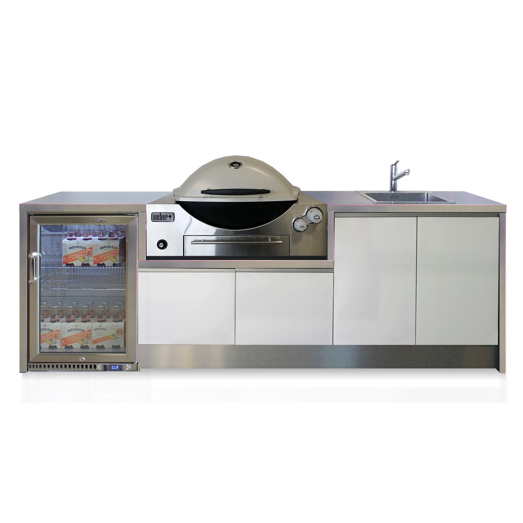 weberbuiltin Outdoor kitchen, Outdoor kitchen appliances