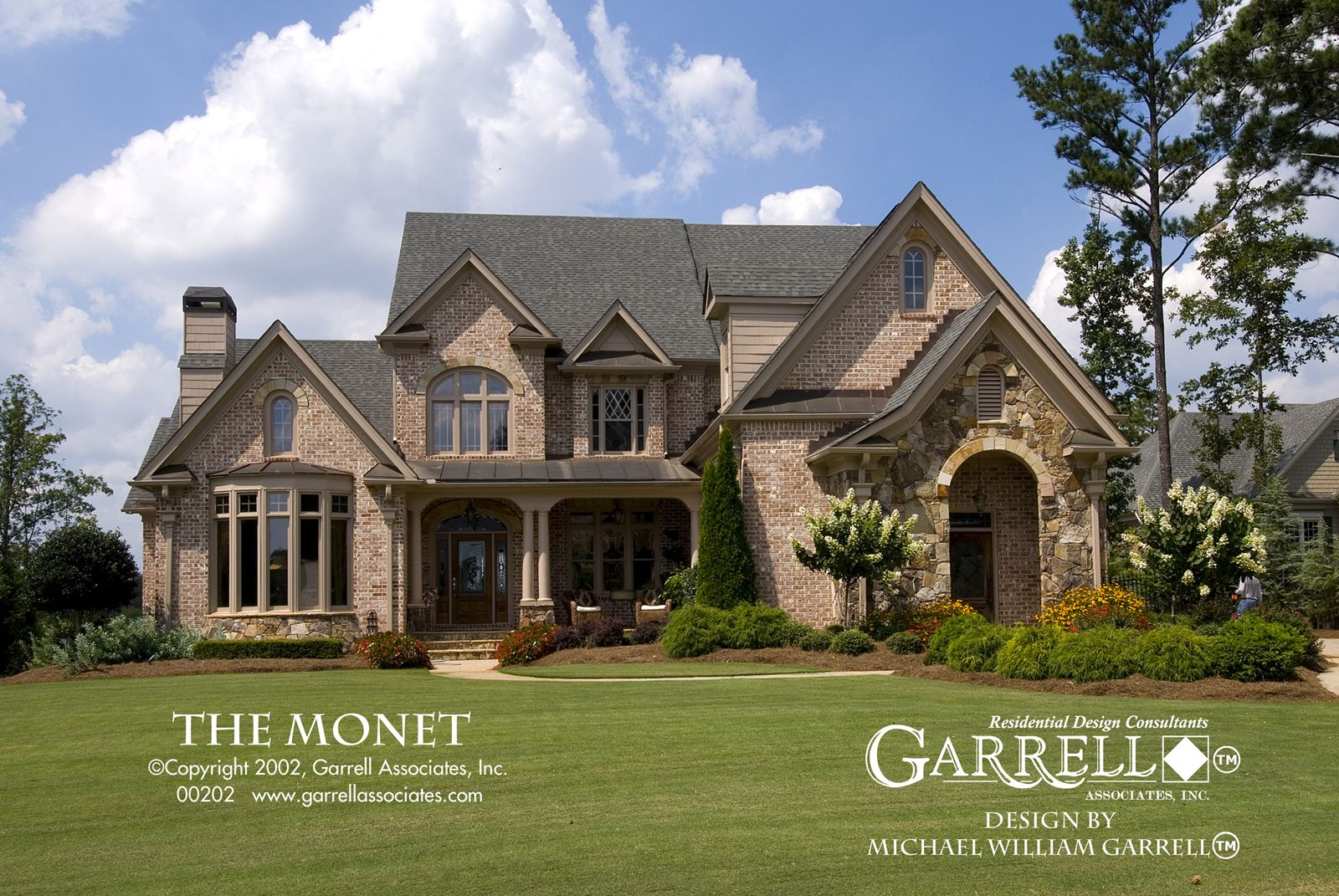 Savvy Homes Floor Plans Monet House Plan 00202 Front Elevation French Country