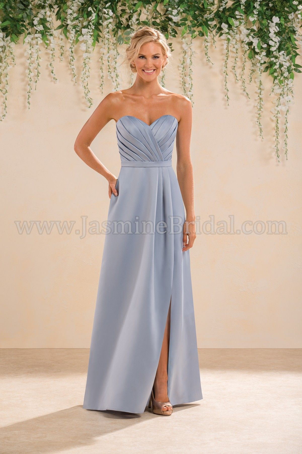Jasmine bridal bridesmaid dress b2 style b183019 in cornflower jasmine bridal bridesmaid dress b2 style b183019 in cornflower sky blue ombrellifo Choice Image