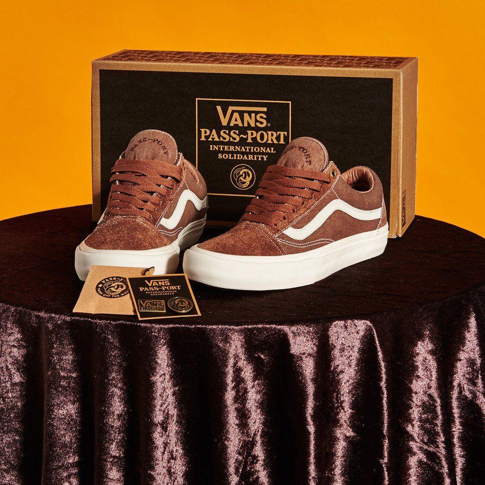 vans old skool chocolate