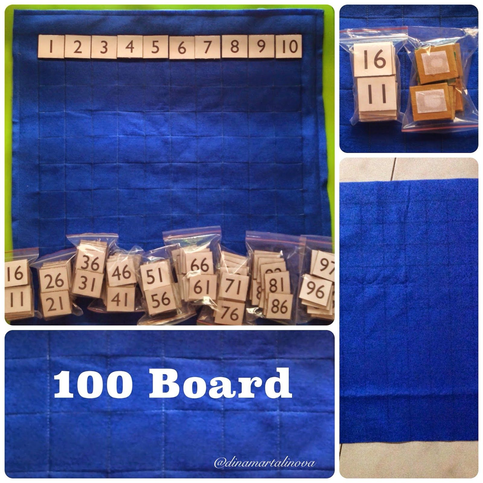 Diy One Hundred Board