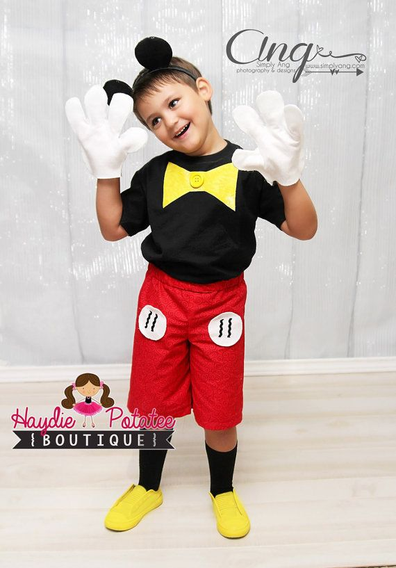 Get Boy Toddler Mickey Mouse Costume