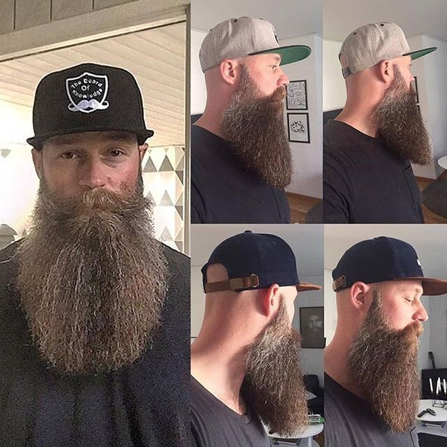 Perfect shape! Credit: @thebeardofknowledge81 Shop Premium Beard Care Products huskybeard.com View Store: http://ift.tt/2hyl5UC