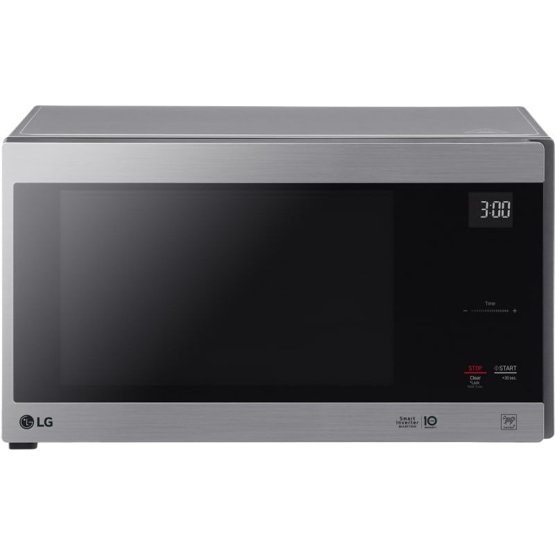 Lg Lmc1575 21 Inch Wide 1 5 Cu Ft 1250 Watt Countertop Microwave With Glass To Stainless Steel Microwave Ovens Microwave Countertop Microwave Countertops Lowes Home