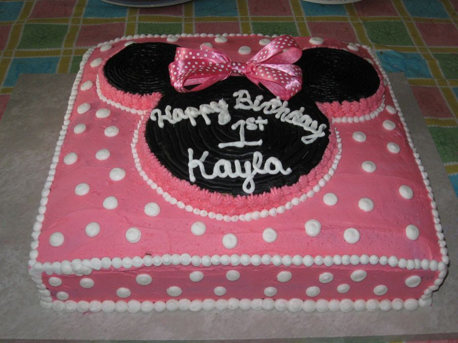 Minnie Mouse Childrens Birthday Cakes Birthday Party Ideas4