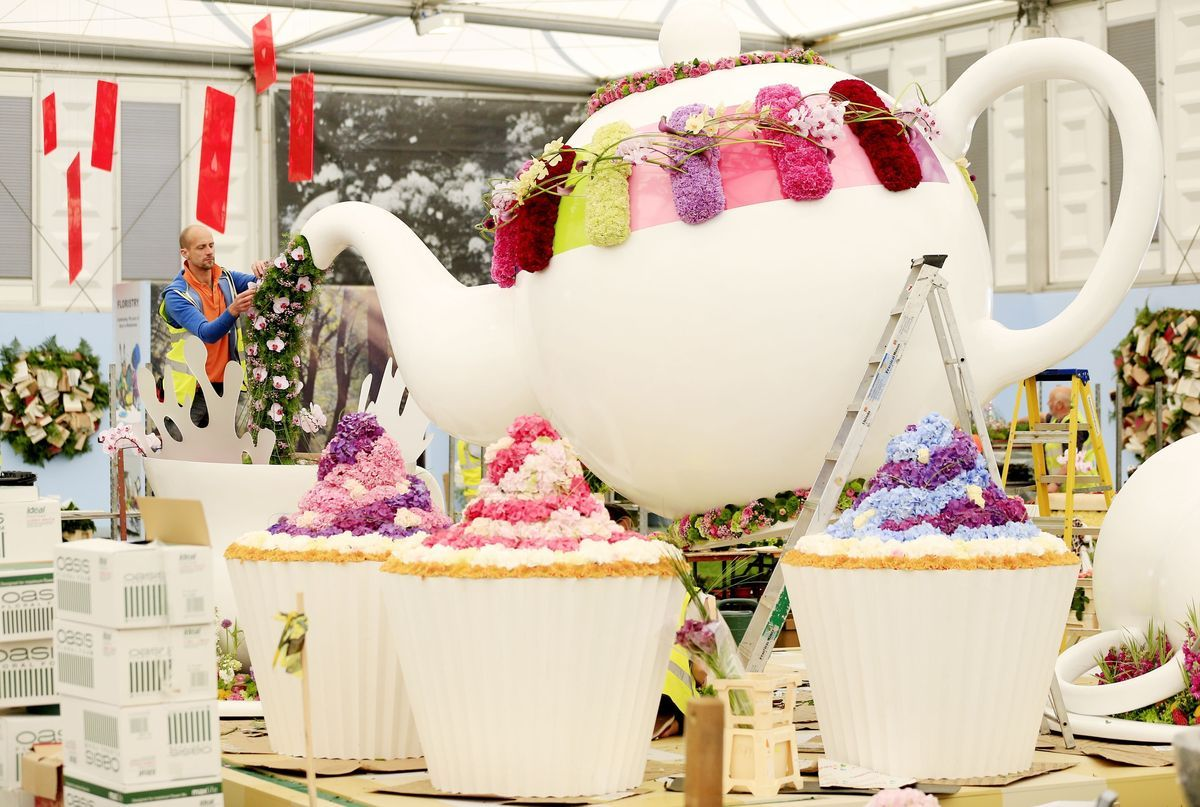 Chelsea Flower Show Gardeners In LastMinute Dash After