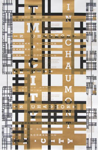 tm city poster by niessen & de vries