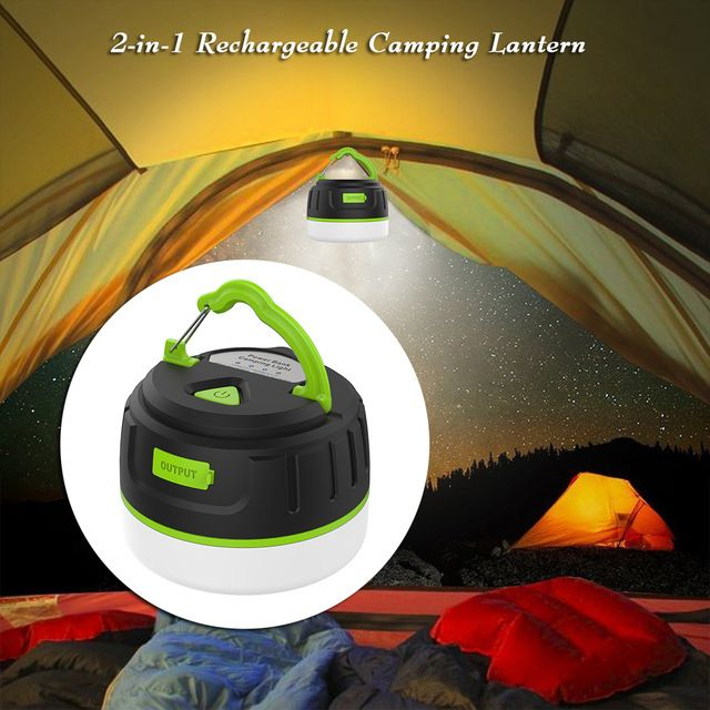 Super Bright Waterproof Magnetic Lamp 200lm Led Camping Tent Lamp Outdoors Lamp With Usb Charging Cable Rech Led Camping Lantern Camping Lanterns Camping Lamp