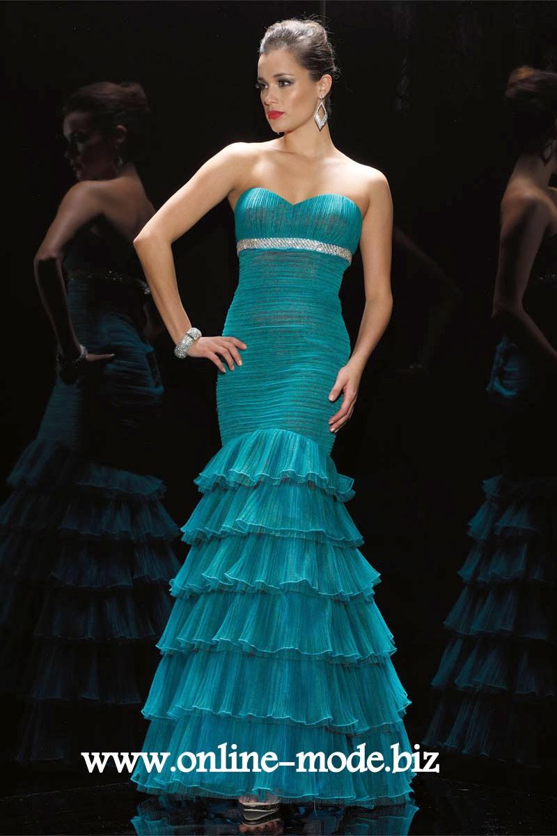 Dunkel Grünes Meerjungfrau Abendkleid | Meerjungfrau ...