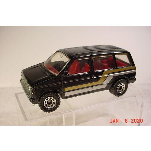 Matchbox 1985 68 1984 Dodge Caravan Black Macau 1/64 on