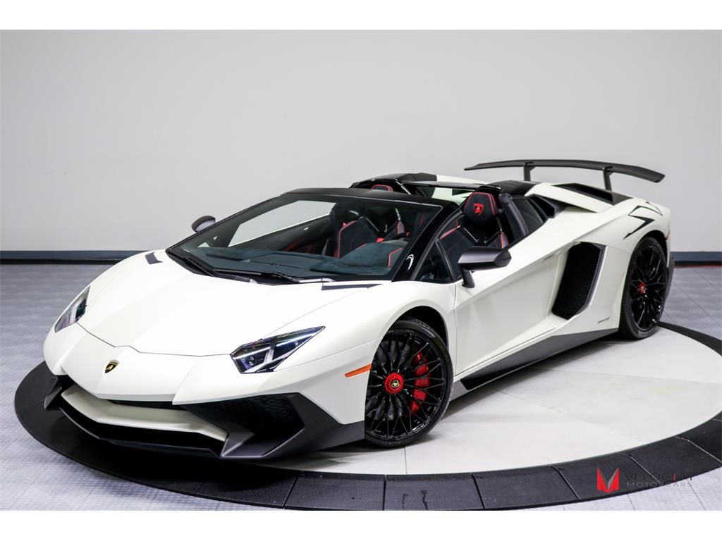 2017 Lamborghini Aventador Lp 750 4 Sv Roadster 2 Door Convertible