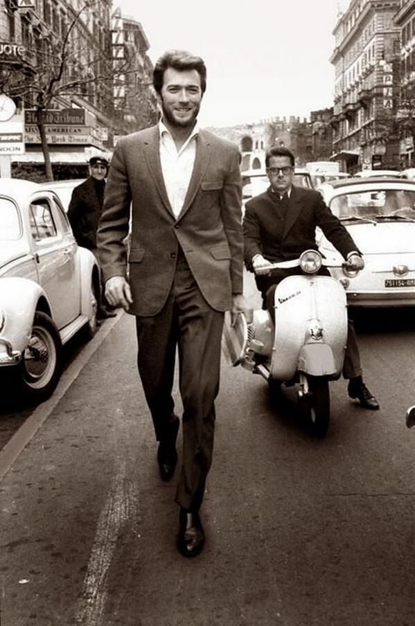 Clint Eastwood at Rome