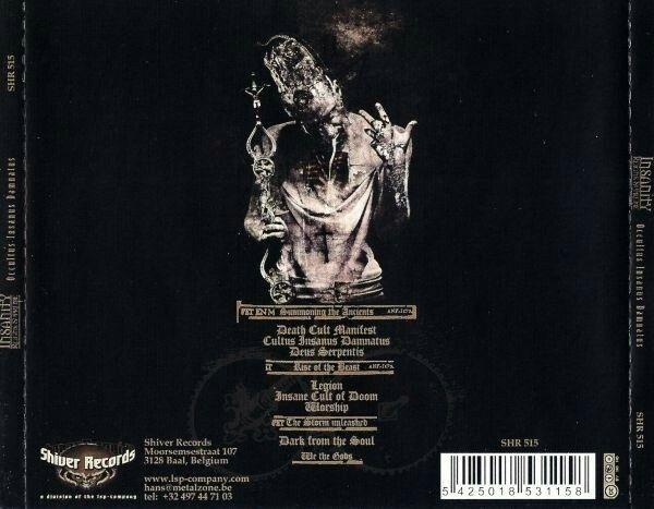 Insanity Reigns Supreme - Occultus Insanus Damnatus (back)
