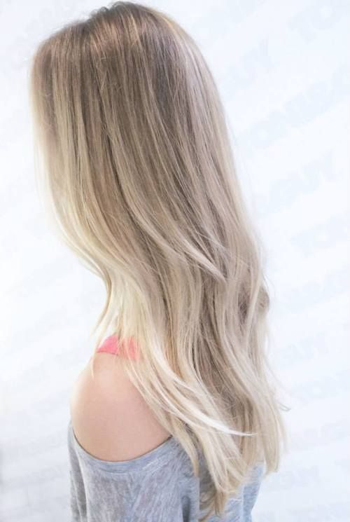 balayage silver blonde - Google Search