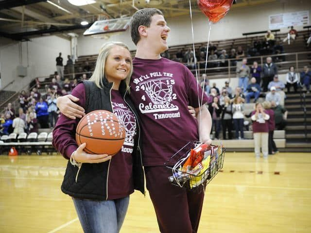 Basketball Prom Proposal Cute Proposals Pinterest Prom
