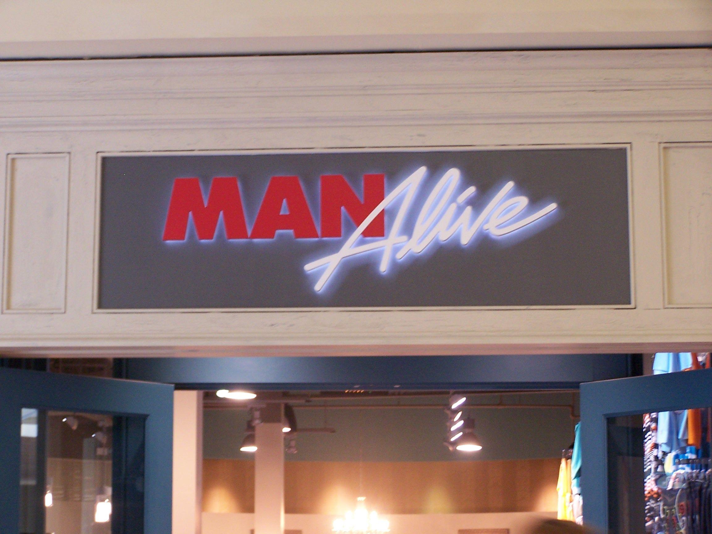 c56448152db4 Another super creative men's clothing store name! (Oglethorpe Mall,  Savannah, GA)