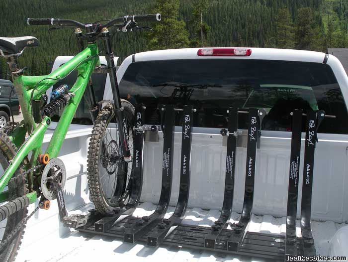 Ultimate Truck Bed Bike Rack Lee Likes Bikes Truck Bed Bike