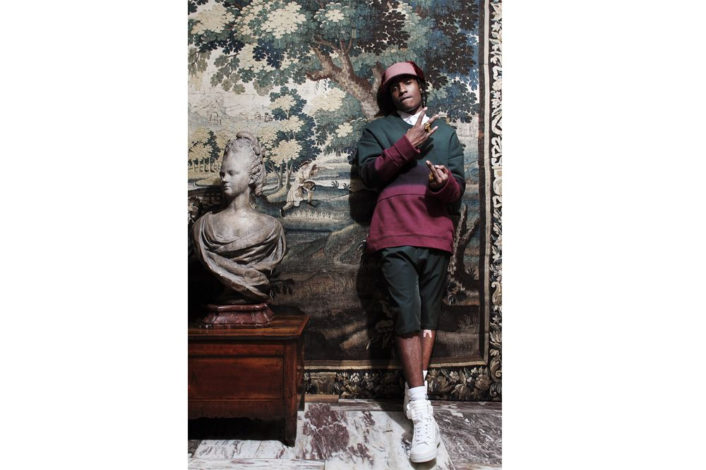 Quoi faut décrire son pin en plus.  OK  500 caractères  OK  A$AP Rocky for WAD magazine  OK  s w a g s t y l e  : )
