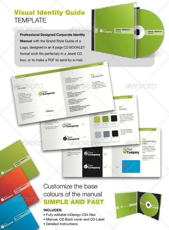 Free Brand Manual Template » VFXFuturenet Design Manuals - instruction manual template