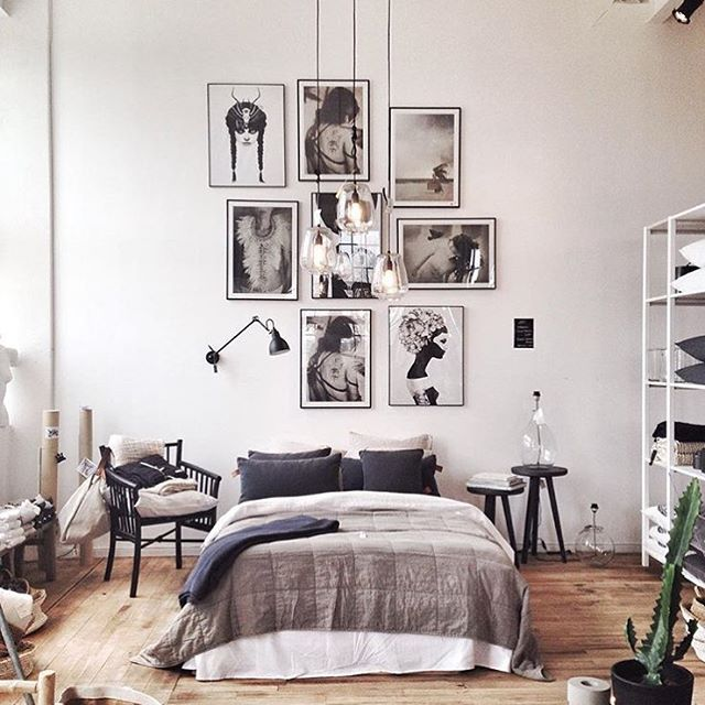High Ceiling Bedroom, Home