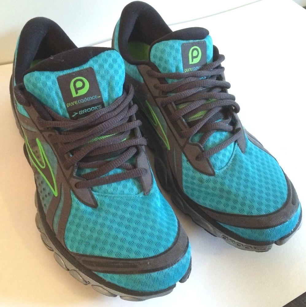 Brooks PureCadence Original, Women's size 9, Blue Green, Very lightly Used #Brooks #RunningCrossTraining