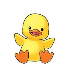 patos bebes tiernos para colorear  Buscar con Google clipart