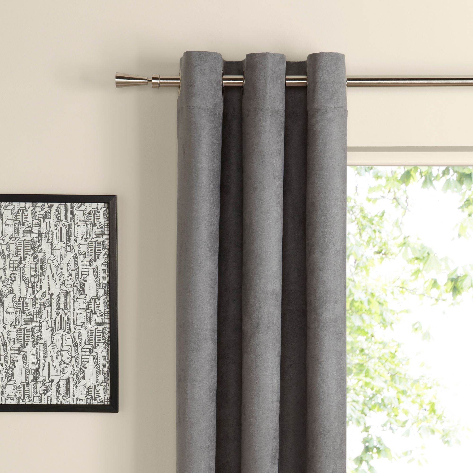 Zen Lime Plain Eyelet Curtains cm cm - B&Q for all your home and garden  supplies and advice on all the latest DIY trends