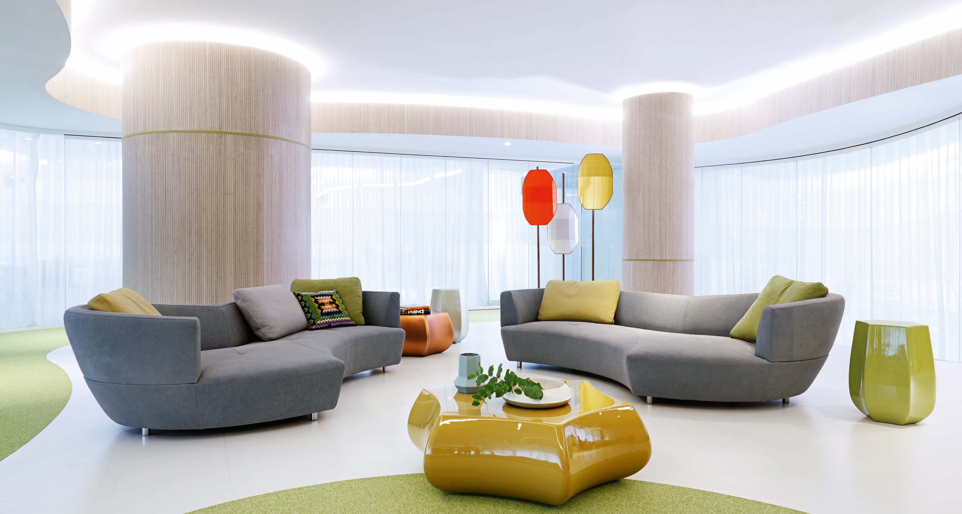 Roche Bobois Digital Sofa Designed By Gabriele Assmann Alfred Kleene Manufacture In Europe Rochebobois Canape Arrondi Canape Design Mobilier De Salon