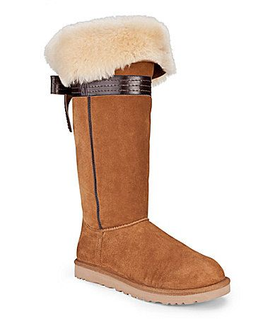 UGG Australia Genevieve Boots #Dillards --I love these! But maybe there are other colors at Ugg Australia.com?