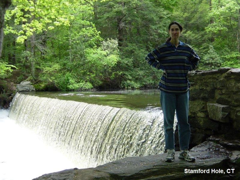 The Stamford Hole A Small Dam Created Waterfall On The Mianus River In The North Part Of Town Pretty Place To Swim On Travel Inspo Pretty Places Park City