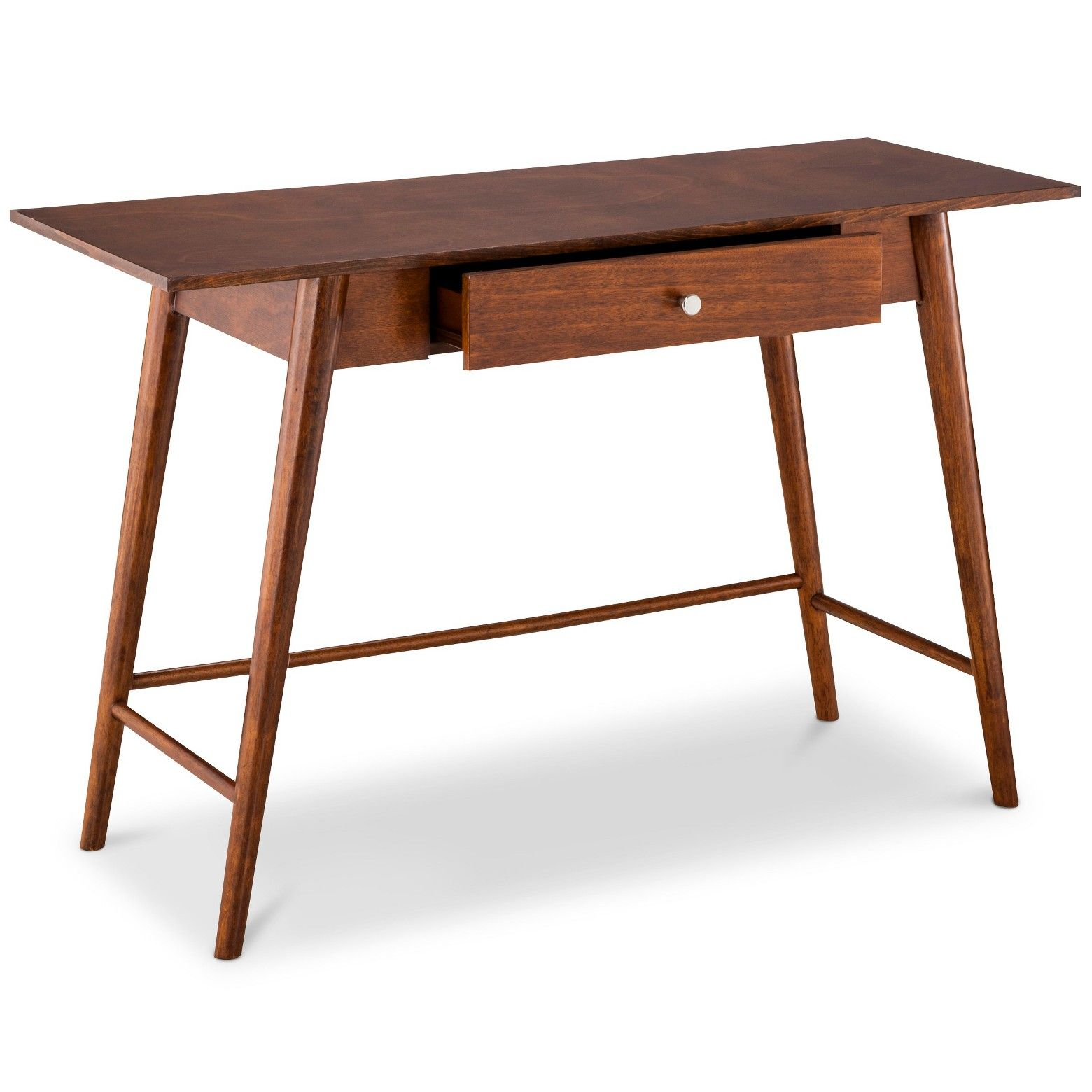 Amherst Mid Century Modern Desk/Console Table Brown