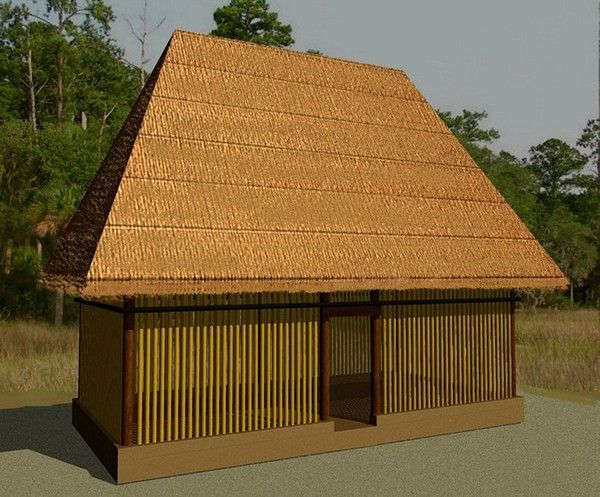 They Style Of House Built By Lowland Totonacs Became The