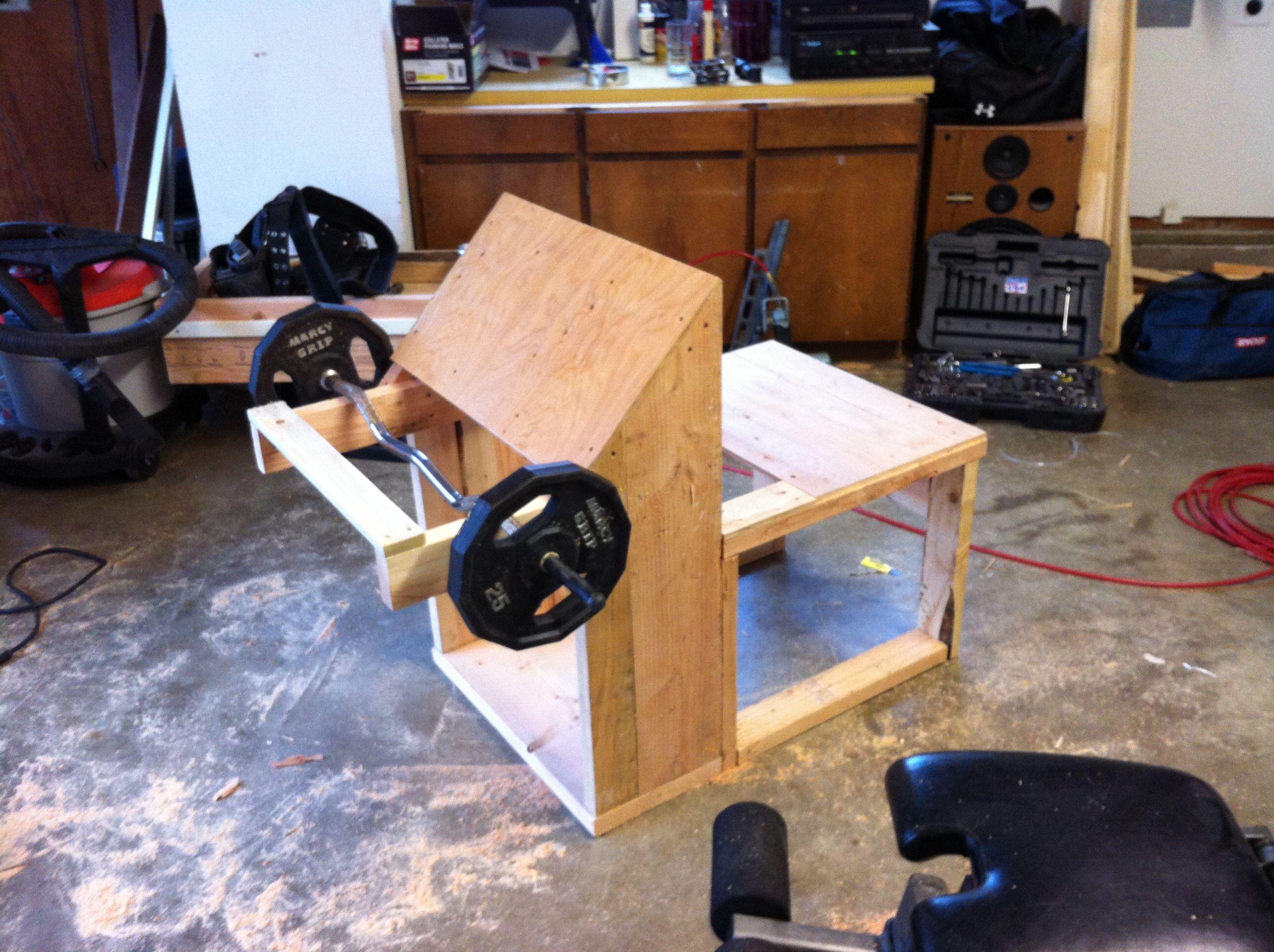 my home built gym equipment my house pinterest fitness fitnessstudio und fitnessstudio zu. Black Bedroom Furniture Sets. Home Design Ideas