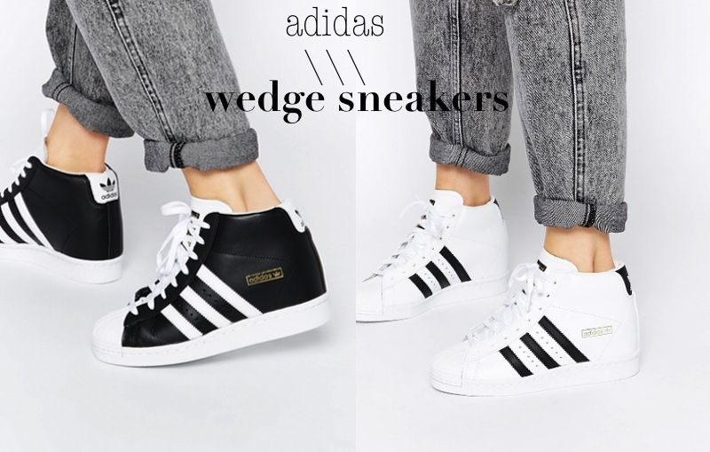 adidas superstar wedge