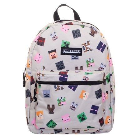 b4170c94703d Minecraft Characters All-Over Print 16 inch Backpack