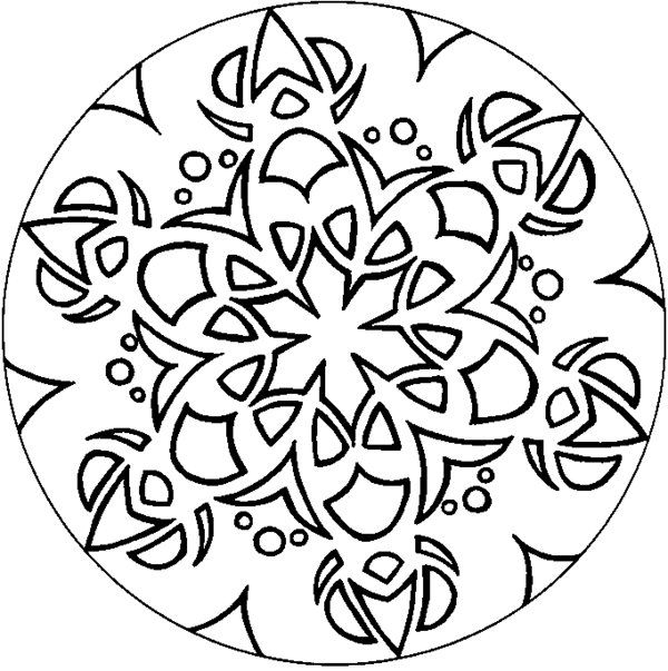 Complex Pattern Coloring Pages