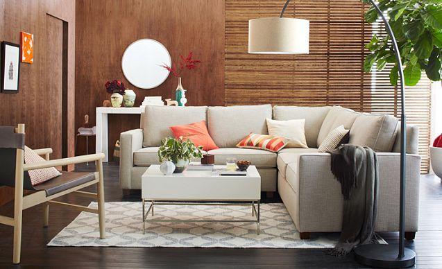 I love the West Elm Light + Lively Living Room on westelm.com ...