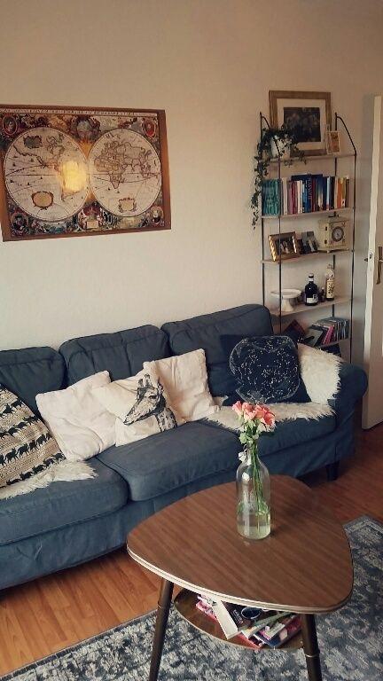 Schöne Sitzecke In Einem WG Zimmer In Bremen. #WG #Zimmer #Einrichtung  #Sitzecke