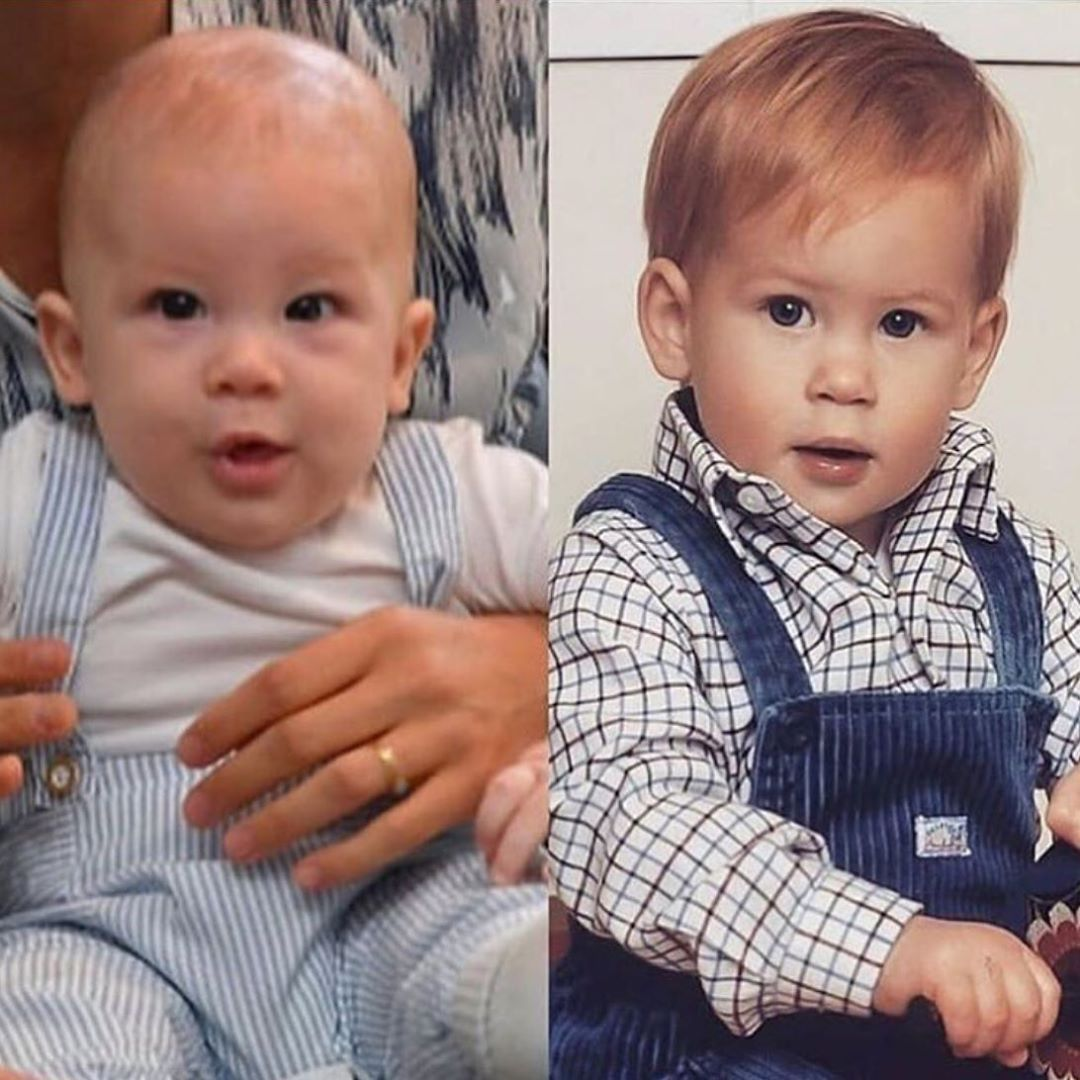 Archie And Harry Little Cuties Meghanmarkle Princeharry Babysussex Royalfamily Ladyd Prince Harry And Megan Prince Harry Meghan Markle Prince Harry