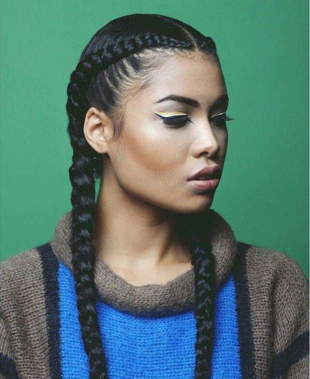 25 Sweet Pigtail Braids Hairstyles French Dutch Fishtails Cool Braid Hairstyles Natural Hair Styles Braided Hairstyles