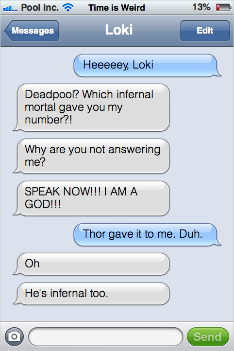 Numerical Roster Countdown 2014: Day 69, Tyler Horn - One ... |Funny Thor And Loki Text