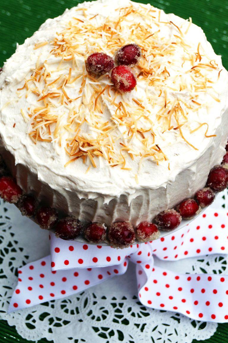 Stunning Italian Cream Cake Aip Paleo Thecuriouscoconut Com