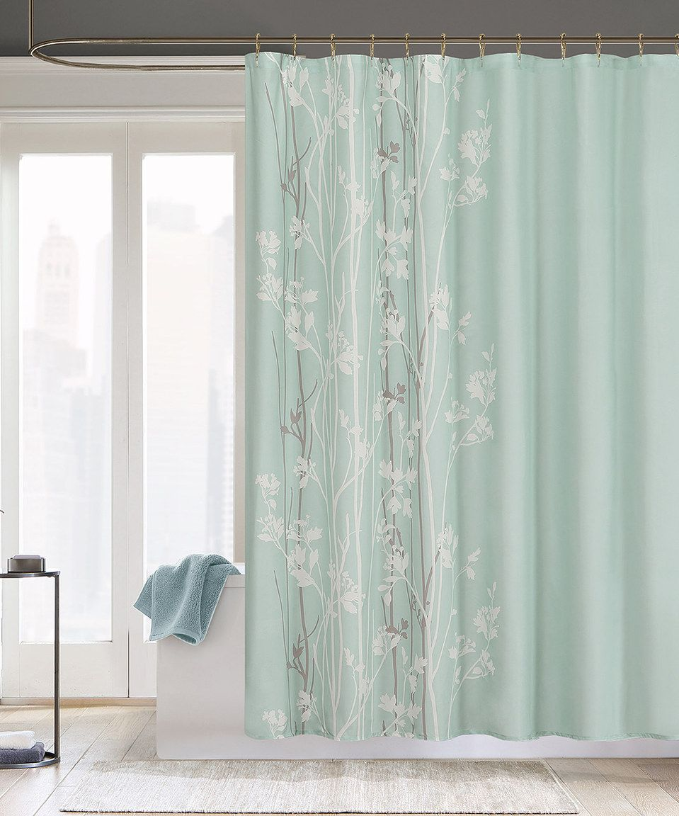 Seafoam Noelle Shower Curtain by  #zulily #zulilyfinds